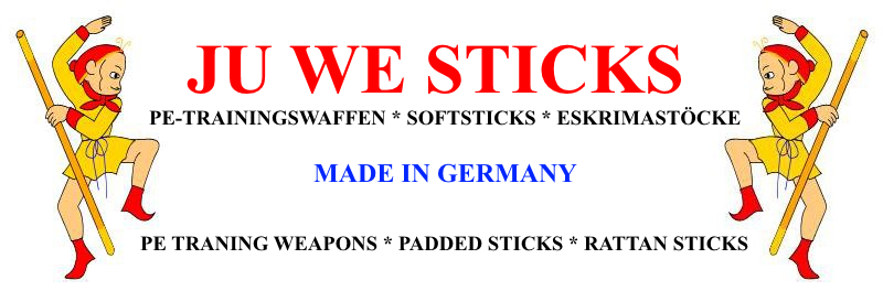 Ju We Sticks, PE-Trainingswaffen, Softsticks, Eskrimastöcke, PE Training Weapons, Padded Sticks, Rattan Sticks